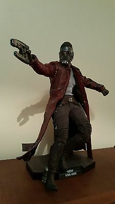 Guardians Of The Galaxy Star Lord Hot Toys 1:6 Scale Mint Boxed