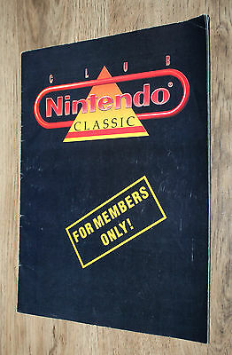 Magazin Heft Ausgabe Club Nintendo Classic For Mmbers Only