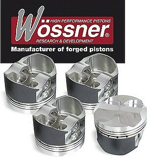 WOSSNER FORGED PISTONS FOR TOYOTA 3SGE 2.0 16v Pistoni stampati Pistones