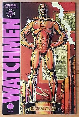 WATCHMEN #8 DC Comics Alan Moore Dave Gibbons - First Print