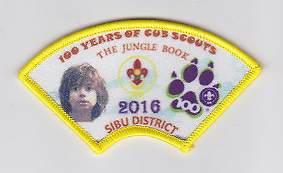 100 Years Of Wolf Cub Scouts Centenary - Malaysia / Malaysian Cub Scout Patch
