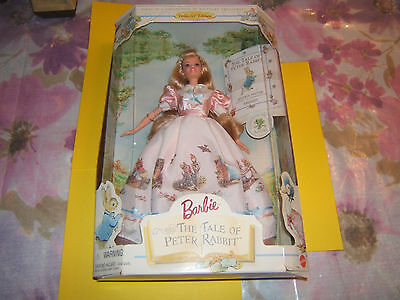 BARBIE TALE OF PETER RABBIT DOLL COLLECTOR EDITION NEW IN Box 1997 RARE