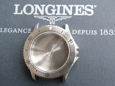 Used Longines Admiral Stainless Steel Watch's Case Only For Part