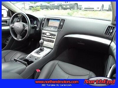 2013 Infiniti G37  2013 Coupe Used 7-Speed Automatic with Manual Shift RWD White