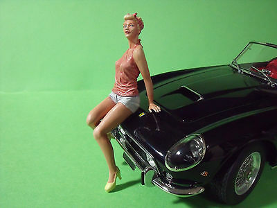 Figurine  1/18   Girl   Romy   Vroom   A  Peindre  Unpainted  Figure