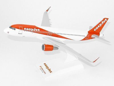 easyJet Airbus A320 Lupa Models Scale 1:150 Solid Resin Model