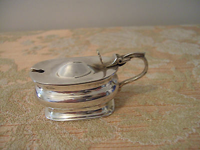 A  Vintage Silver Plated Mustard Pot
