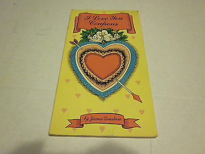 I Love You Coupons - booklet