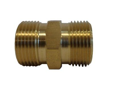 M22 14mm to M22 14mm Adapter, Hose to Hose Coupler for Power Pressure Washer