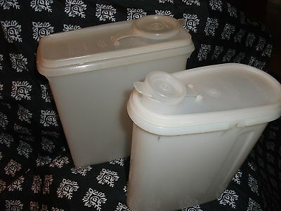 2 Tupperware Shear Containers