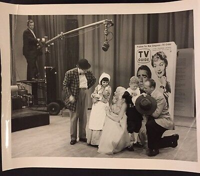 Mary Hartline, Kids & Puppies, TV Guide Photo Shoot, Autographed To Buyer