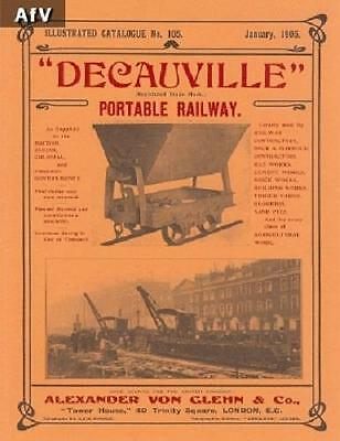Decauville Illustrated Catalogue  No. 105 Reproduction