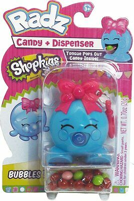 Shopkins Radz Candy Dispenser Bubbles