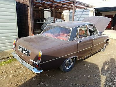 1961 ROVER 2000 P6 now gone RESTORATION PROJECT BARN FIND