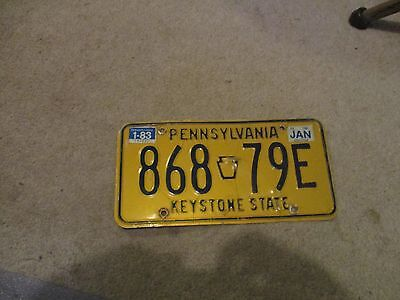 pa license plate 82-83