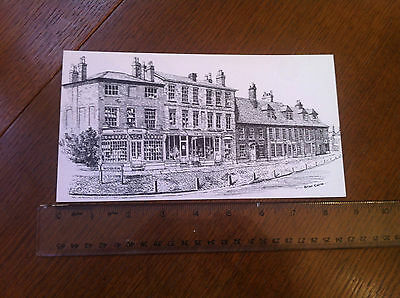 The Square, Woburn, Beds - large postcard - 1980s?