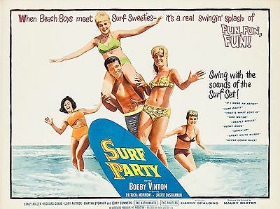 "Surf Party 16"" x 12"" Reproduction Movie Poster Photograph"