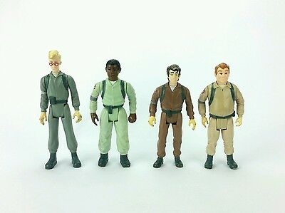 Vintage ☆ SET OF THE REAL GHOSTBUSTERS Action Figure ☆ Egon Ray Winston Peter