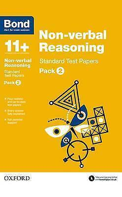 Bond 11+: Non Verbal Reasoning: Standard Test Papers Pack 2  9780192740