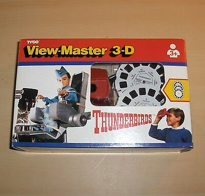 Thunderbirds 3D View Master With Slides. 1994.