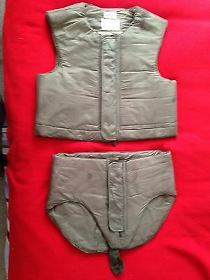 "WWII  Flyers ""Flak Jacket"" and shorts - Size Large - Very Nice!"