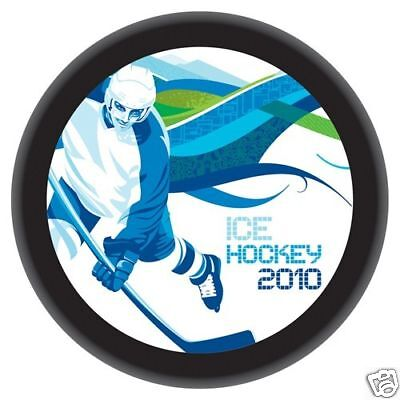 2010 Winter Olympics Hockey Vancouver Official Puck NIP