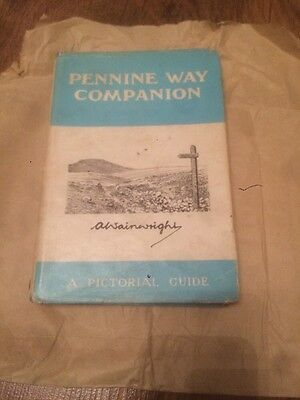 Pennine Way Companion- A Pictorial Guide By A. Wainwright