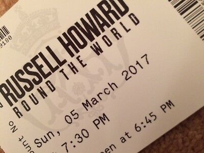 2 tickets for Russell Howard World Tour at Royal Albert Hall