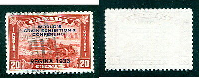 Used Canada 20 Cent Grain Exhibition Stamp #203 (Lot #12608)