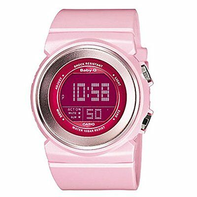 CASIO BGD-100-4DR Baby-G Quartz Resin Pink Chronograph Watch - Brand New.