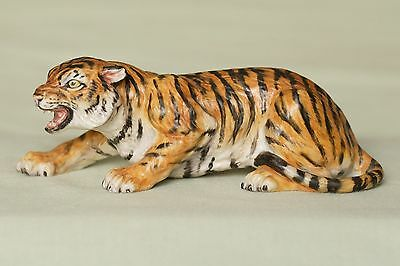 Very Rare Halcyon Days Tiger - Wildlife collection by Howard J. Wedgwood