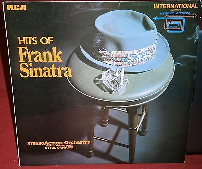 Stereo Action Orchestra / Cybil Ornadel Hits Of Frank Sinatra Ints 1191 Rca Lp