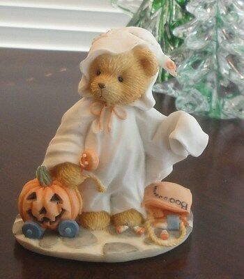 "CHERISHED TEDDIES ""STACIE Dressed As Ghost * You Lift My Spirit ~ 1994 ~  617148"