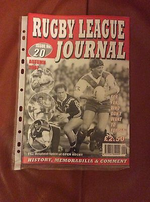 Rugby League Journal,issue 20