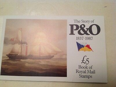 """Royal Mail commemorative booklet of stamps: """"The Story of P and O"""""""
