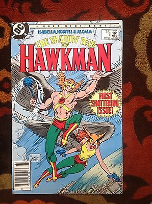 The Shadow War of Hawkman #1 (DC,1985)Tony Isabella (NM)