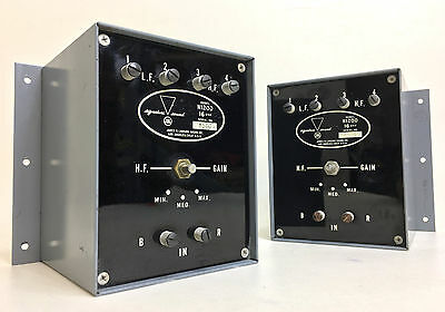 Vintage JBL N1200 16-ohm Crossover Network Pair Consecutive Serials - EXCELLENT