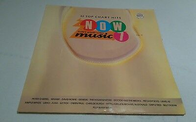 """Now That's What I Call Music 7 - 12"""" Double Gatefold LP Vinyl Record - (1986)"""