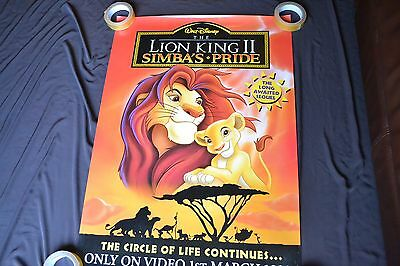 """LION KING SIMBA'S PRIDE poster -  23"""" x 33"""" - Portrait - ROLLED"""