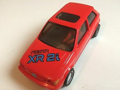 Ford Fiesta Xr 2I Original Hornby Toy Slot Racing Car Body Without Motor Zt