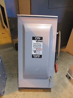 Murray GHN422NW, 60 Amp 240 Volt Fusible NEMA 3R Disconnect
