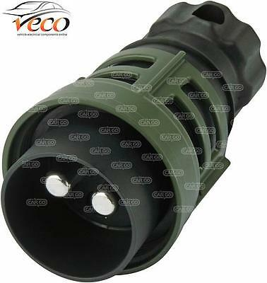 Nato Towing Plug Military Landrover Heavy Duty 24 Volt 2 Pin Cable Connector