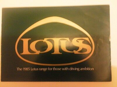 Lotus Cars Brochure