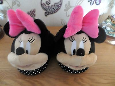 Ladies Minnie Mouse Disney Slippers Size 5/6 New