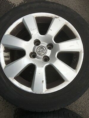 """Vauxhall Astra Alloy Wheels 16"""" X 4 With Tyres 205-55-R16"""