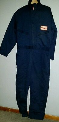 Braniff airlines airplane insulated coveralls XL UNIFORM