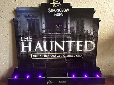 Strongbow Promotional Light Up Advertising Board~Gr8 Collectors Item
