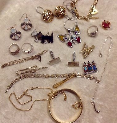 Job Lot Of Jewellery Including Silver