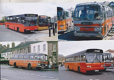 Pennine Buses Twelve 6X4 Color Photo's Buses (1)