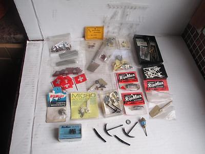 Mixed Lot, Model Boat, Ship, Parts- Rudders, Couplings, Etc. Brass, Metal. New.
